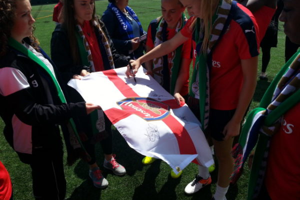 Flag Being SIgned